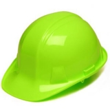 Pyramex Hard Hat - High Vis Lime Green