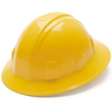 Pyramex Full Brim Hard Hat - Yellow