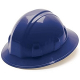 Pyramex Full Brim Hard Hat - Navy Blue