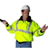 "High Visibility ""Bomber"" Jacket"