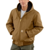 Men's Duck Active Jac/Quilted-Flannel Lined