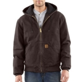 Men's Sandstone Active Jac/Quilted Flannel Lined