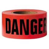 Red Danger Caution Tape
